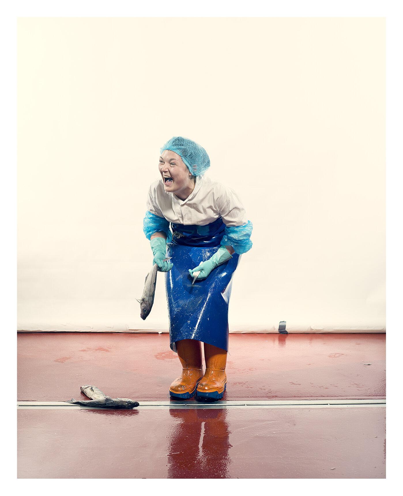 Craig Easton: Fisherwomen