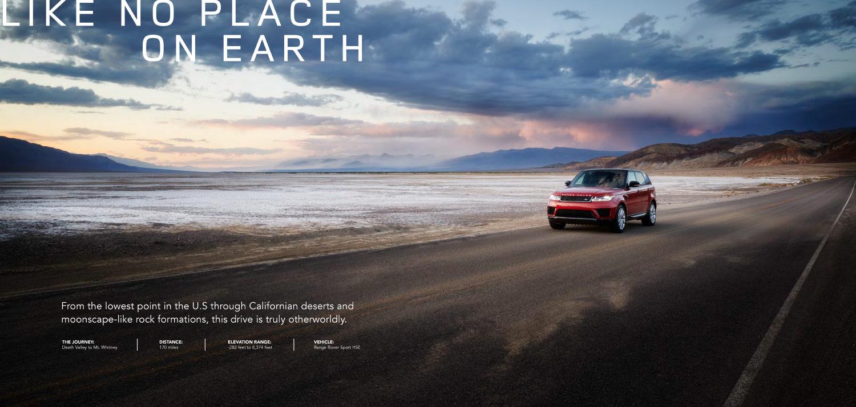 Julian Calverley: Range Rover