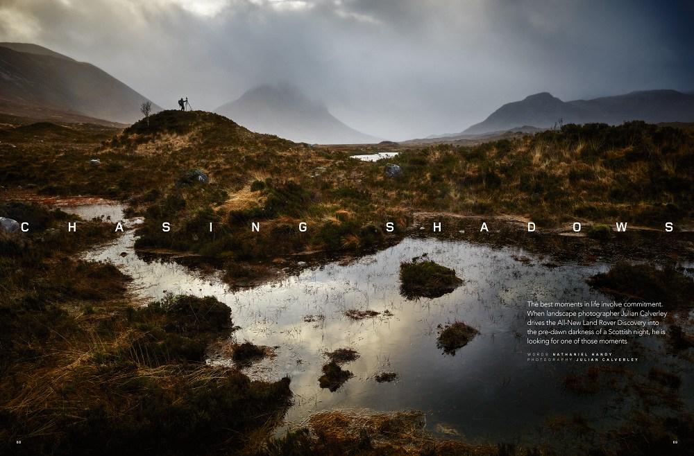 Julian Calverley: Land Rover - Chasing Shadows on the Isle of Skye
